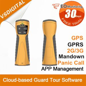 Rugged GPRS Guard Tour System
