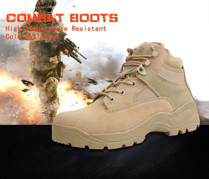 Tactical Security Boots