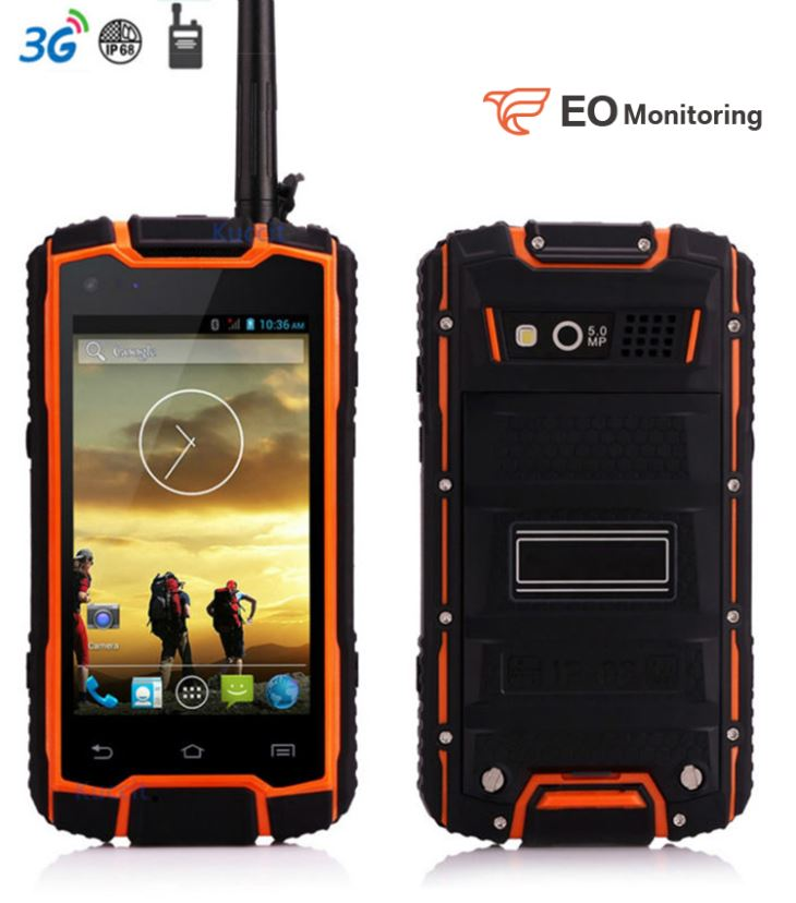 WCDMA Rugged Smartphone with Walkie Talkie