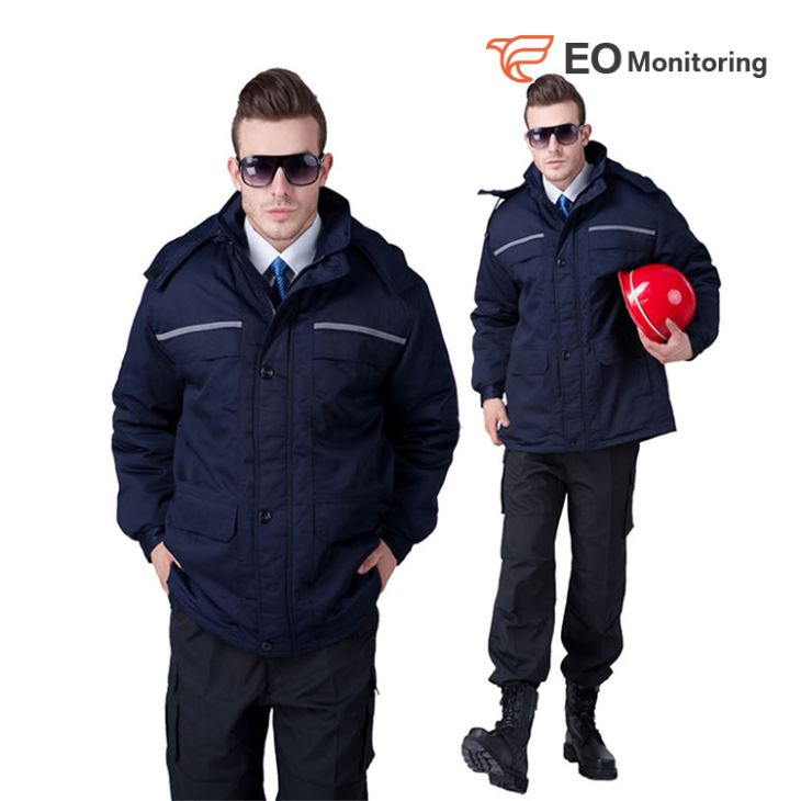 Winter Security Guard Uniform Set